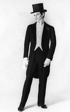 Tuxedo. House of Lanvin. 1927