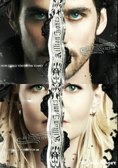Colin O'Donoghue - Killian Jones -Captain Hook - Jennifer Morrison - Emma Swan…