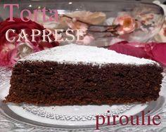 Torta Caprese d'Alba Pezone : Gâteau moelleux au chocolat et aux amandes pour Pessah