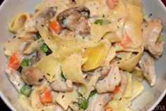 Turkey Tetrazzini - Katie's Cucina