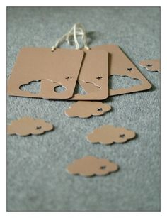 Love the tags - and you get an added bonus to use the cut out on your gift/project, etc