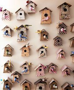 bird houses galore
