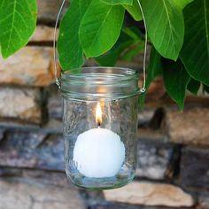 DIY: Mason jar lanterns