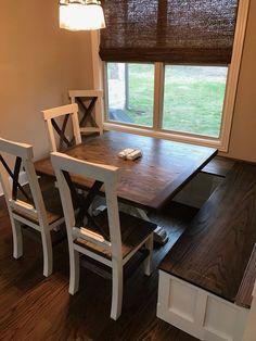 Custom Ash Wood Farm Dining Table