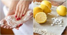 Let's remove aspirin and lemon flesh. Aspirin and lemon juice ingredients combat fungi, soften the flesh of the flesh, while helping. Nail Fungus, Best Natural Skin Care, Feet Care, In The Flesh, Natural Treatments, Fungi, Home Remedies, Balmain, Body Fitness