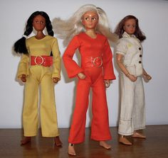 I had an Action Girl in the - she had a fab jumpsuit too! Eagle Eye, Green Eyes, Girl Outfits, Jumpsuit, Action, Doll, Indian, Female, How To Wear