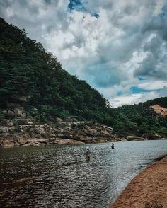 흐르는 강물처럼 #강태공 #iphone6splus #iphone6s #한탄강 #river #korea #vsco
