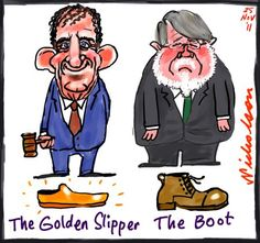 Is the shoe now on the other foot #boot #witchHUNT #AusPol