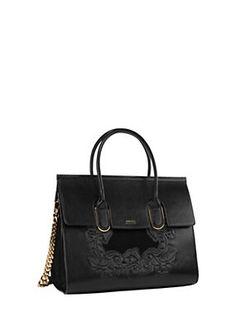 Versace - Baroque Embossed Vintage Bag