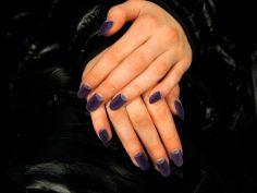 purple half moon