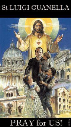 st luigi guanella - pray for us Catholic Saints, Roman Catholic, Catholic Art, Prayers Of The Saints, Evil Words, Friend Of God, St John Vianney, Jesus Painting, Pray For Us