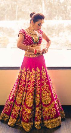 Gorgeous Pink Lehenga Choli
