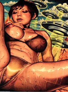 The Digital Sexy Adult Cartoons, Sexy Cartoons, Art Sites, Lowbrow Art, Illustrations, Horror Art, Jelly Beans, Girl Cartoon, Erotic Art