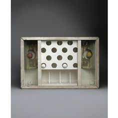 Compartmented Box By Joseph Cornell ,1949