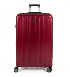Delsey Helium Titanium 29in Expandable Spinner Trolley