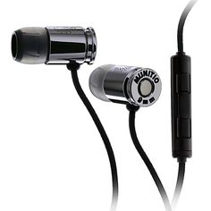 Munitio | NINES SLV : Tactical 9mm earphones with 3-Button mic.