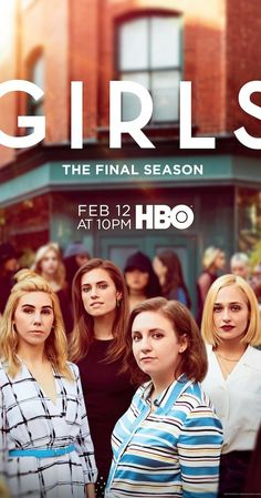 Created by Lena Dunham.  With Lena Dunham, Allison Williams, Jemima Kirke, Adam Driver. A comedy about the experiences of a group of girls in their early 20s.
