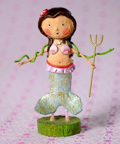 Marina Mermaid Figurine #zulily #zulilyfinds