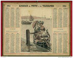 calendrier 1912
