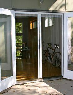 Retractable Screen Door For French Doors Craftsman Home