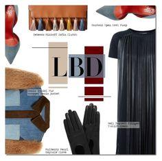 """Little Black Dress"" by barbarela11 ❤ liked on Polyvore featuring Neil Barrett, Sonia Rykiel, Santoni, Rebecca Minkoff and Mulberry"