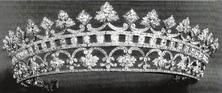 Queen Victoria Strawberry Tiara