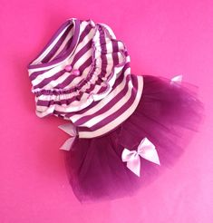 PURPLE DOG DRESS CLOTHES PUPPY CLOTHES CHIHUAHUA YORKIE XS SMALL 21CM TEACUP
