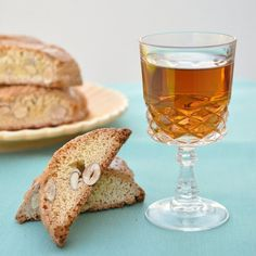 Cantucci with Vin Santo