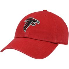 Mens Atlanta Falcons Red Classic Franchise Fitted Hat, Sale: $10.99 -  You Save: $9.00 http://shareasale.com/m-pr.cfm?merchantid=52555&userid=646297&productid=648802499&afftrack=falcons