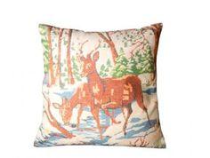 kussen 'Deer Tapestry'