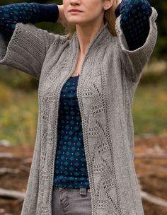 Agatha Cardigan Pattern - Knitting Patterns and Crochet Patterns from KnitPicks.com