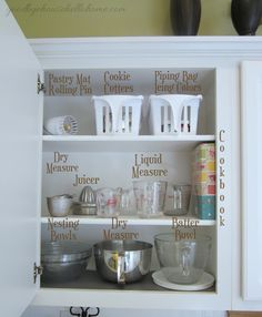 "Creating a baking station. Organized space of the week... Kitchen ""The Baking Zone"" 
