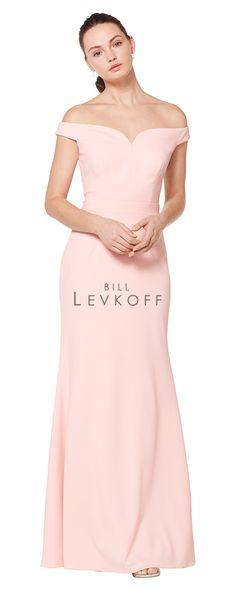 86408cece78 Bill Levkoff 1621 Off-The-Shoulder Bridesmaid Dress