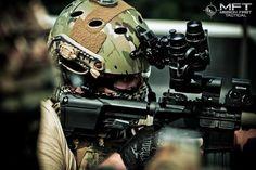 Love this shot! #SpecOps #rifle #guns