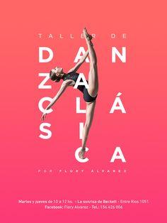 Ballet flyer on Behance