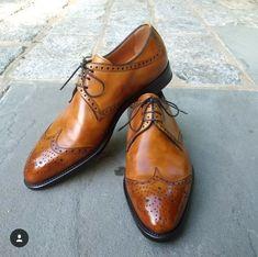 Handmade New Men's Tan Color Shoes, Men's wingtip Lace Up Leather Formal Shoe Lace Up Shoes, Men's Shoes, Dress Shoes, Shoes Men, Men Dress, Dress Clothes, Leather Brogues, Leather Shoes, Tan Leather