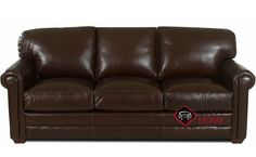 Cassidy Leather Sofa. A great addition.