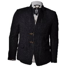 BOLONGARO TREVOR ZIGGY TWEED - Jackets and Coats - Menswear Tweed Jackets, Menswear, Coats, Blazer, Live, Fashion, Moda, Wraps, Fashion Styles
