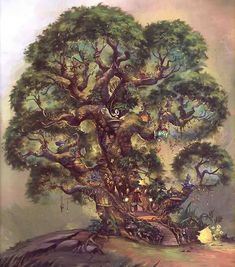pictures of the faries of pixie hollow | Disney Fairies The Home Tree in Pixie Hollow