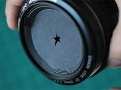 Interesting photography concept...click to see how the pictures come out..Love to try this.