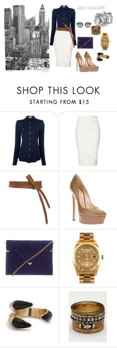 gany dia by iviisz-gauciin on Polyvore featuring Burberry, Donna Karan, Casadei, Solomon Appollo, Rolex, Free People, GUESS, Isabella Oliver, ASOS and Savant