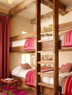 quartos femininos com beliche para duas - Pesquisa Google
