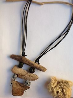Driftwood, agate and lava