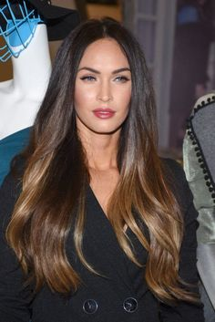 Image result for balayage for dark brown hair straight