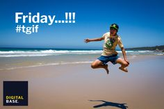 Thank God it's Friday. Australia Beach, Thank God, Design Agency, Tgif, Bangkok, Friday, Action, Base, Social Media