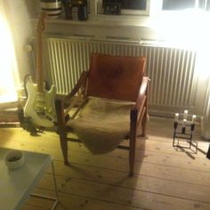 Latest aquisition, safari chair