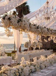beach wedding venues Getting The Wedding Venue Decorations Right Perfect Wedding, Dream Wedding, Wedding Day, Garden Wedding, Italy Wedding, Forest Wedding, Spring Wedding, Wedding Events, Wedding Venue Decorations
