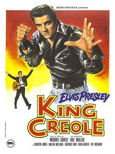 Elvis Presley - King Creole - French Poster - Mini Print A
