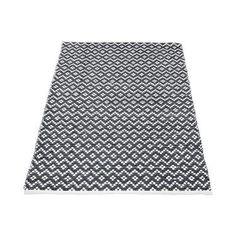 Living E Cotton Jute Scale Rug Black 160 X 230 Cm Spotlight Australia