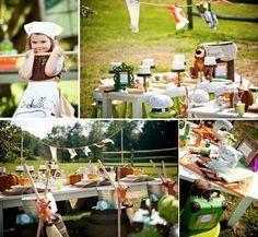 THE cutest IDEA! Before the ball Cinderella themed birthday party via Kara's Party Ideas - www.KarasPartyIdeas.com